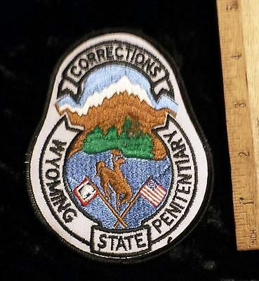 Vintage Wyoming State Corrections Penitentiary, WY Iron/Sew on Patch