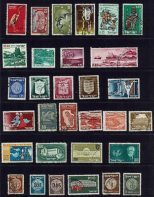 Israel    Collection Of Various Stamps