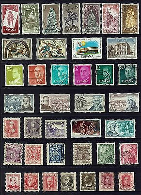 Spain  Various Stamps...collection...