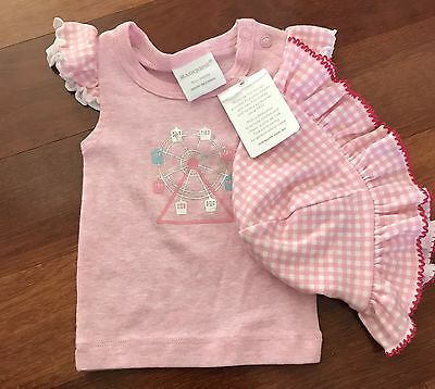Marquise Girls Top and Hat, Size 0000 BNWT