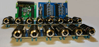 Audio Injector Octo Sound Card for the Raspberry Pi - balanced