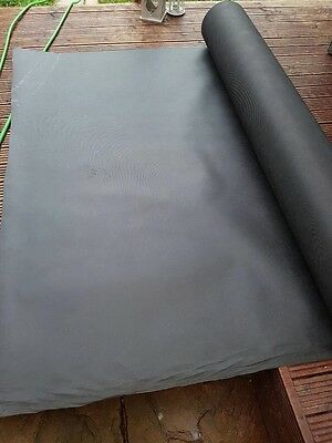 1,5x50m 120gsm Eco geotextile Non woven weed control Landscape garden BLACK