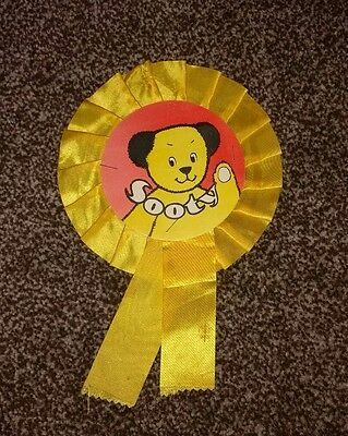 Vintage Retro Sooty Rosette 1960s 1970s - TV Show Sooty