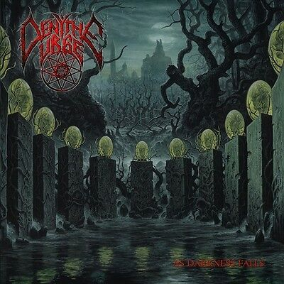 "Deny The Urge ""As Darkness Falls"" CD [Brutal & Technical old school Death Metal]"