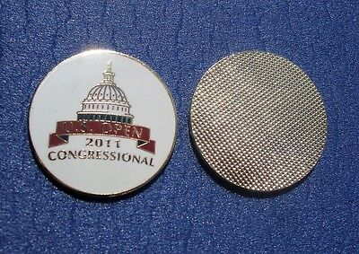 FLAT 1 inch 2011  US OPEN Golf ball marker RORY McILROY