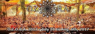 2 OZORA festival 2017 tickets 2d phase