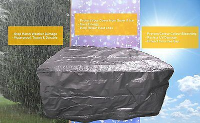 Hot Tub protection Bag, Winter Weather Proof Spa Cover 2260 x 2260 x 1100