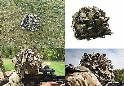 Approved Mil Spec IRR Erebis MTP Helmet Scrim for Virtus Helmet / Mark 7 etc