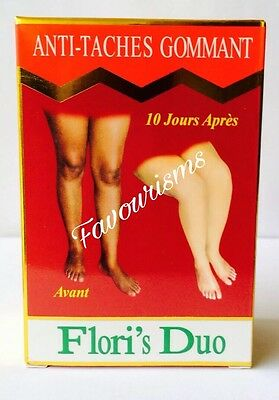 Flori's Duo Anti-Taches Gommant Serum and Lotion  ( Pack of 2 Bottles)