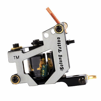 Tattoo Supply Cast Iron Frame Coil Machine Tattoo Gun For Liner and Shader