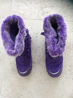 Girls Snow Walking Boots Size 12