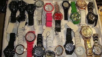 Trade Only Job Lot Of 20 X  Mixed  Ltd  Watches 100% Gen .<<
