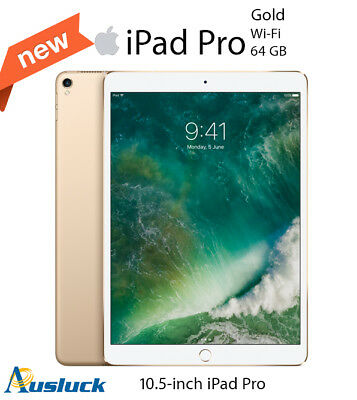 "APPLE iPAD PRO 64GB Wi-Fi 10.5"" GOLD  MQDX2X/A 2017 MODEL ""AUSLUCK"""