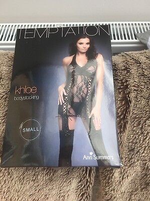 Ann Summers Khloe Body Stocking Small