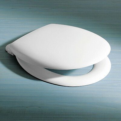 Caroma Caravelle Seat Soft Close Quick Release Hinge Toilet Seat 254003W