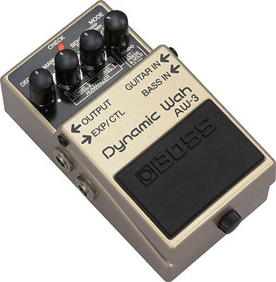 Pedale Boss AW3 Dynamic Wah Nuovo!!!