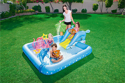 BESTWAY FANTASTIC AQUARIUM PLAY POOL 239 x 206cm