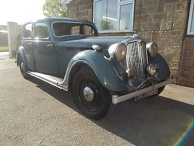 1937 Rover P2 Speed 20