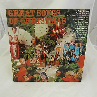 GREAT SONGS OF CHRISTMAS - V/A- LP '69 CBS SPECIAL PRODUCT GoodYear /TOP AUDIO!