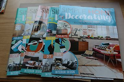 simple home decorating magazine issues 1-5