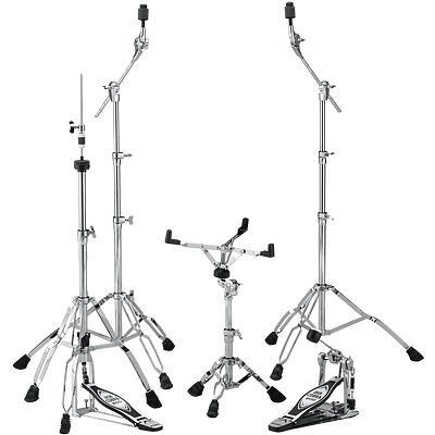 TAMA HB5W 5pc Hardware kit - IRON Cobra Hi-Hat, Drum Pedal, Snare, 2 Boom Stand