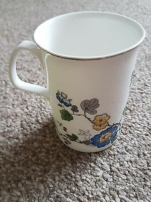 Roy Kirkham China Rose Bone China Mug Very Good Condition