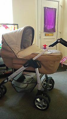 Silvercross pram,and car seat,  excellent condition.