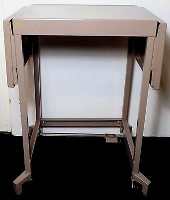 Vintage Mid-Century Tiffany Company Typewriter Table Stand Cart