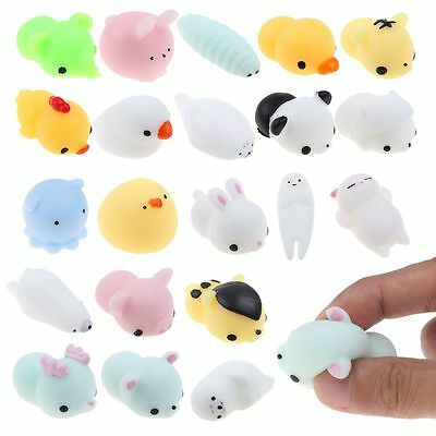 Cute Mini Squishy Animals Anti Stress Reliever Mood Vent Squeeze Toy New Popular