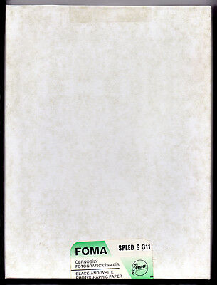 "FOMA Fomaspeed S 311 - 7 x 9.5"" (17.8x24cm) 50 sheets, B&W Photo Paper - Expired"