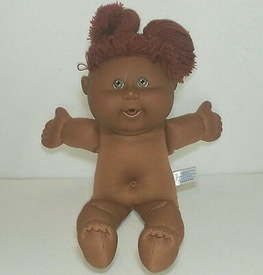 Black Cabbage Patch Kids toy doll Brown Play Along