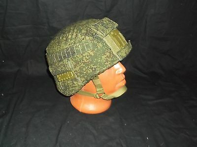 Сover for Russian helmet 6б47 for fastenings,  color: digital flora