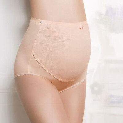 Maternity Adjustable Pregnant Women Panties Belly Care Support Underwear Careful