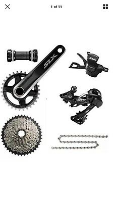 Shimano SLX 1 X 11 Groupset .uk Seller