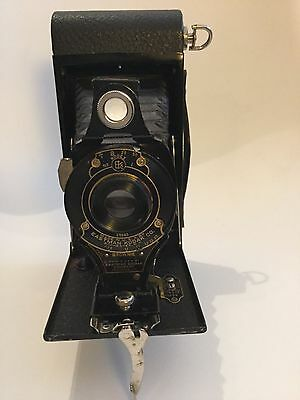 Eastman Kodak No 2A Autographic Brownie Bellows Camera