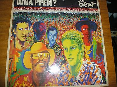 The Beat Wha'ppen? Vinyl Lp Go-Feet Records Beat3 1981 Uk Release Vg/ex