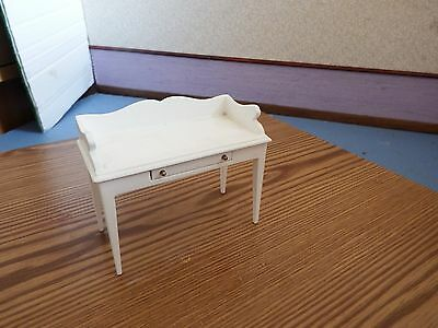 dolls house furniture white wash stand 1.12th scale
