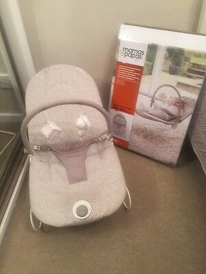 Mamas And Papas Unisex Bouncer Chair With Box