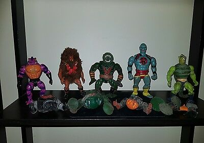 Vintage He-Man Figures and parts - 80's - Masters of the Universe