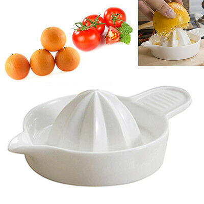 Manual Juicer Ceramic Orange Juice Extractor Squeezer Infant Food Grinder Tool