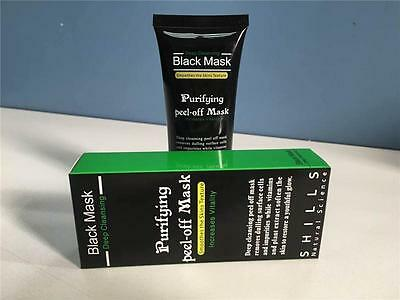 Shills Black mask, pore cleansing, deep cleanse, face peel off mask, anti ageing
