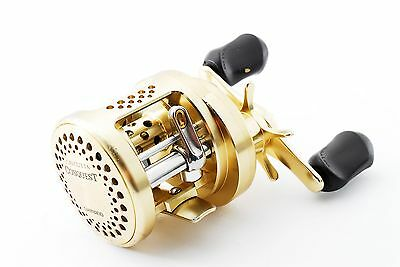 "SHIMANO CALCUTTA CONQUEST 101 Left Handle Bait Casting Reel ""exc+"" From Japan"