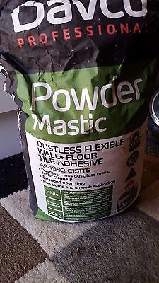 Davco Powder Mastic bag - 18kg (90% full) - Floor/Tile adhesive