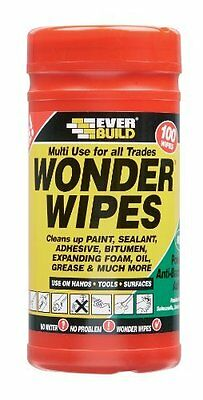 Everbuild Wonder Wipes Wonderwipes Multi-Use Cleaning Wipes 100, 600 and Spray