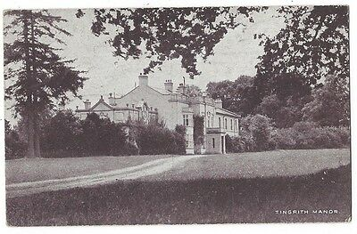 TINGRITH MANOR Bedfordshire, Old Postcard Unused