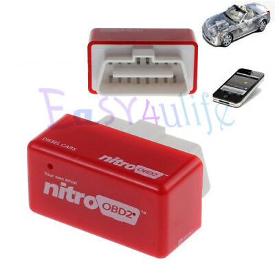 Nitro OBD2 Chip OBD Diesel Cars Performance Chip Tuning Box Interface Plug&Drive