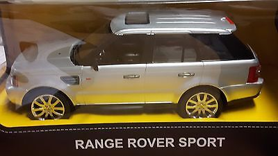 Rastar 1:14 Scale RC Range Rover Sport in Silver with Remote Control