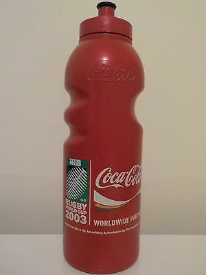 Coca Cola 2003 Rugby World Cup Collectible Drink Bottle