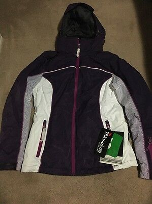 SnowExtreme Ladies Women Ski Jacket Purple Size Small