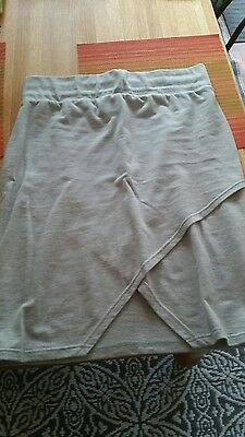 ASOS grey maternity skirt size 12 or M